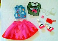 2019  Mattel Wild Hearts Doll Outfit fits Curvy Fashionistas Barbie Doll
