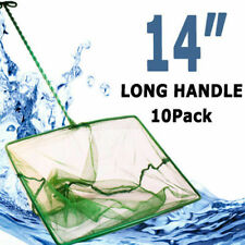 "BioPro Aquarium Fish Tank Coarse Long Handle Large Nylon Net 14"""