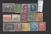 LOT  STAMPS GERMANY  REICH USED  (L26037)