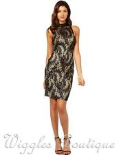 Lipsy Patternless Mini Synthetic Dresses for Women