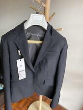 BNWT Van Heusen women's Wool Classic relax fit Suit (Jacket & Pant) Charcoal  10