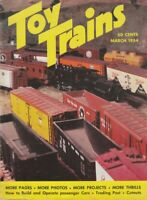 "[75506] ""TOY TRAINS"" MAGAZINE - MARCH, 1954, Vol. 3, No. 5"