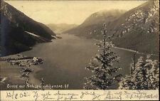 Pertisau Österreich Tirol alte AK 1902 Achensee gelaufen nach Oehringen Öhringen