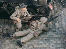 Verlinden 1/35 British Bren Gun Team Soldiers WWII (2 Figures) (Resin) 2396