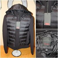 NEW*NWT Mens TUMI TRANSITIONAL NEOPRENE Puffer Hooded Zip Jacket : Size L $325