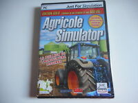 JEU PC CD-ROM - AGRICOLE SIMULATOR NEUF