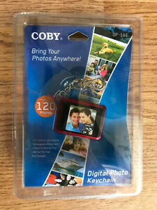 Coby Digital Photo Keychain DP-161 - 1.5 LCD Display (New Sealed) (Red)