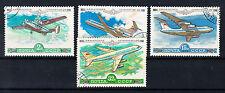 Russland Briefmarken 1979 Flugzeuge der AEROFLOT Mi.Nr.4843-46