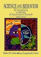 Science and Behavior : An Introduction to Methods of Psychological Research