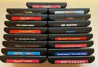 Sega Genesis Video Game Cartridges - You Pick - Rares - US Seller