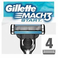 Gillette Mach3 Start Lamette per Rasoio da Uomo 4 Testine
