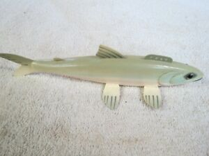 HARRY NOVAK HAND MADE ICE FISHING SPEARING DECOY TROUT