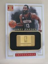 2016-17 Panini Impeccable James Harden 14k Gold 1/2 Troy Ounce Rockets 9/10