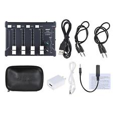Professional Mini 4-Channel mono Stereo Audio DJ Sound Mixer USB L9P7