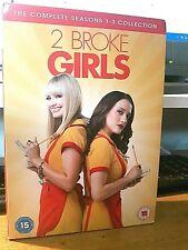 2 Broke Girls - Season 1-3 (9xDVD) Excellent condition