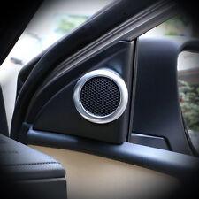 ABS Inner Front Door Stereo Speaker Cover Trim 2pcs for Toyota Corolla 2014-2017