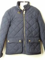 GIRLS POLO RALPH LAUREN AGE 8-10 YEARS NAVY BLUE QUILTED COAT JACKET KIDS