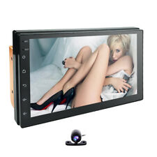 7''Inch Double 2DIN Android 9.0 Stereo Car No DVD Player GPS Nav Touch Radio+CAM