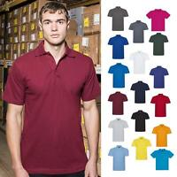 Pro RTX Men's Short Sleeved Polo Shirt (RX101) - Adults Casual Workwear T-Shirt