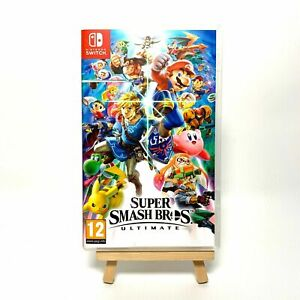 Super Smash Bros Ultimate Reproduction Box Only NO Game Switch Cover Art & Case