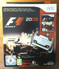 Wii - F1 2009 (Nintendo Wii) - BIG BOX WITH STEERING WHEEL - Formula 1 racing