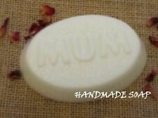 MUM  HANDMADE SOAP BAR ( TEA TREE ) WITH COCOA BUTTER GIFT WRAPPED