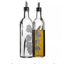 Kitchen Craft  Glass Oil & Vinegar Drizzler Set - KCGLOILVIN