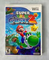 Super Mario Galaxy 2 Video Game Original Case Nintendo Wii (No Manual) Disc