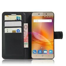 For ZTE Blade A452 Book Flip Magnetic Card Wallet PU Leather Case Stand Cover