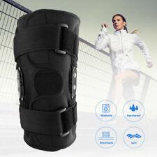 Adjustable Knee Brace Hinged Compression Sleeve Support Patella Stabilizer Wrap