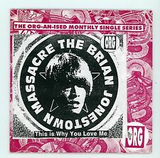 Indie USA - The BRIAN JONESTOWN MASSACRE:This Is Why You Love Me - CDs UK 1998