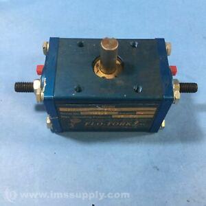 Moog A100-94-AB-ET-MS1-RKS-N Rotary Actuator, 125 PSI USIP