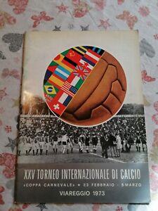 XXV FOOTBALL TOURNAMENT VIAREGGIO 1973, PROGRAMME