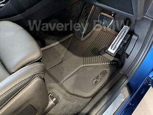 New Genuine BMW X3 All Weather Floor Mat Set G01 Part 51472450513 Rubber Protect