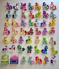 Huge My Little Pony Hasbro Mini Figures Lot (50) Main Characters + Accessories!
