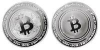 1.2 oz Physical Bitcoin Cash BCH Iron Coin Token Round Chip Silver Color 44mm