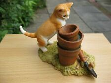 More details for an original sherratt and simpson piece  - kitten mouse on trowel  (704gin)
