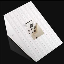 Folding Card Lens Focus Calibration Alignment AF Micro Adjustment Ruler Chart