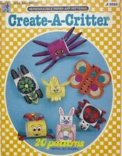 Create-A-Critter (Reproducible Paper Art Patterns)