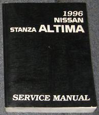 1996 Nissan Stanza Altima Service Repair Manual