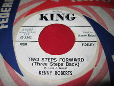 KENNY ROBERTS - TWO STEPS FORWARD - COUNTRY PROMO 45
