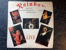 RAINBOW EP LIVE Kill The King, Mistreated, Man On The Silver ..Polydor POSP 274