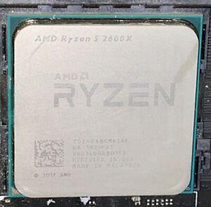AMD Ryzen 5 2600X Processor YD260XBCM6IAF 3.6 GHz Six Core Socket AM4 CPU