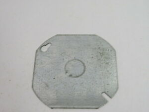 """Raco 50169007242 4"""" Blank Octagon Cover w/ 1/2"""" Knockout ! NOP !"""