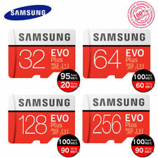 2017 Samsung Evo Plus Micro SD SDXC Carte Mémoire 128g 128gb UHS U3 100mb/s 4k