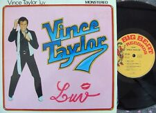 Vince Taylor ORIG FRE 10 LP Luv EX Bigbeat BB804 '80 Rock N Roll
