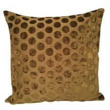 "Spotted Olive Green Upholstery 18x18"" Decorative/Throw Pillow Case/Cushion Cover"