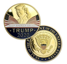 Donald Trump 2020 Keep America Great Commemorative Challenge Coin Eagle Coins RF