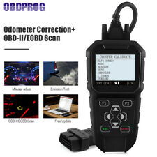 Auto OBDII Scanner Diagnostic Tool Adjustment Mi leage Correction OBDPROG MT401