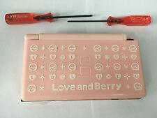 Austausch Ersatz Komplett Gehäuse für Nintendo DS Lite NDSL in Love and Berry